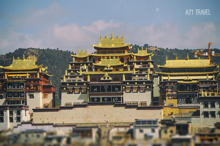 Tu viện Songzalin shangri-la