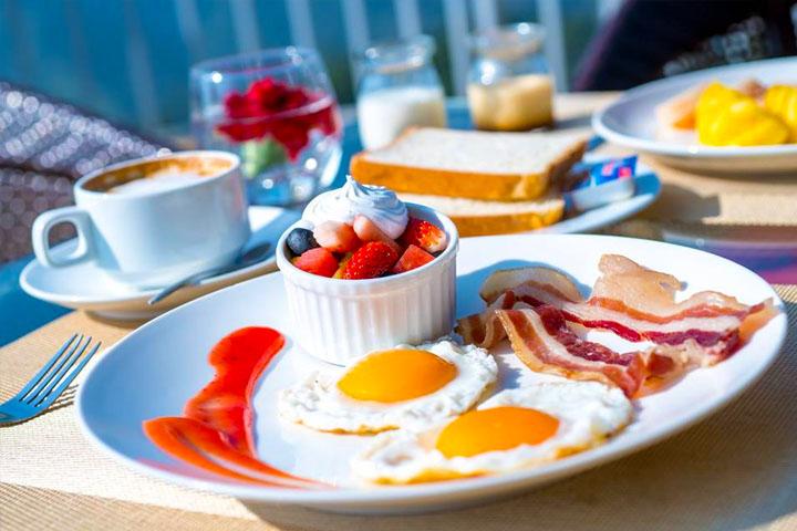 Bữa sáng ngon miệng tại Amazing Sapa