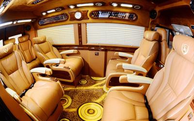 xe Limousine Vip đi Sapa